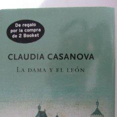 Libros de segunda mano: LA DAMA Y EL LEÓN DE CLAUDIA CASANOVA (PLANETA). Lote 83033300