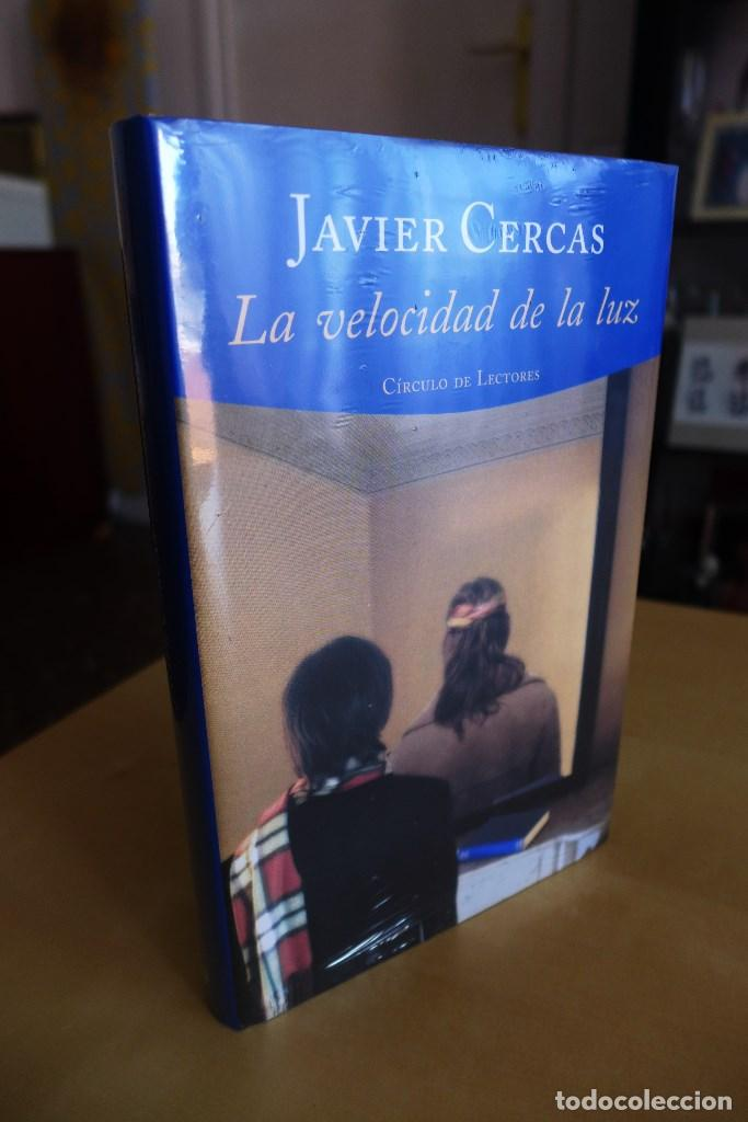 LA VELOCIDAD DE LA LUZ, JAVIER CERCAS, TAPA DURA, A ESTRENAR ESTA PRECINTADO, CIRCULO DE LECTORES (Libros de Segunda Mano (posteriores a 1936) - Literatura - Narrativa - Novela Histórica)