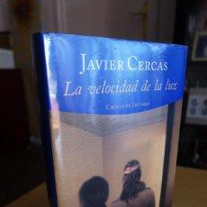 Libros de segunda mano: LA VELOCIDAD DE LA LUZ, JAVIER CERCAS, TAPA DURA, A ESTRENAR ESTA PRECINTADO, CIRCULO DE LECTORES. Lote 83398988