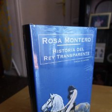 Livros em segunda mão: HISTORIA DEL REY TRANSPARENTE,ROSA MONTERO, TAPA DURA, A ESTRENAR PRECINTADO,CIRCULO DE LECTORES. Lote 83400068