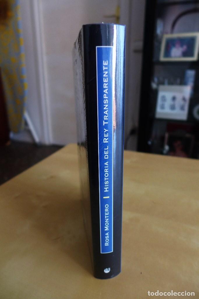 Libros de segunda mano: HISTORIA DEL REY TRANSPARENTE,ROSA MONTERO, TAPA DURA, A ESTRENAR PRECINTADO,CIRCULO DE LECTORES - Foto 3 - 83400068