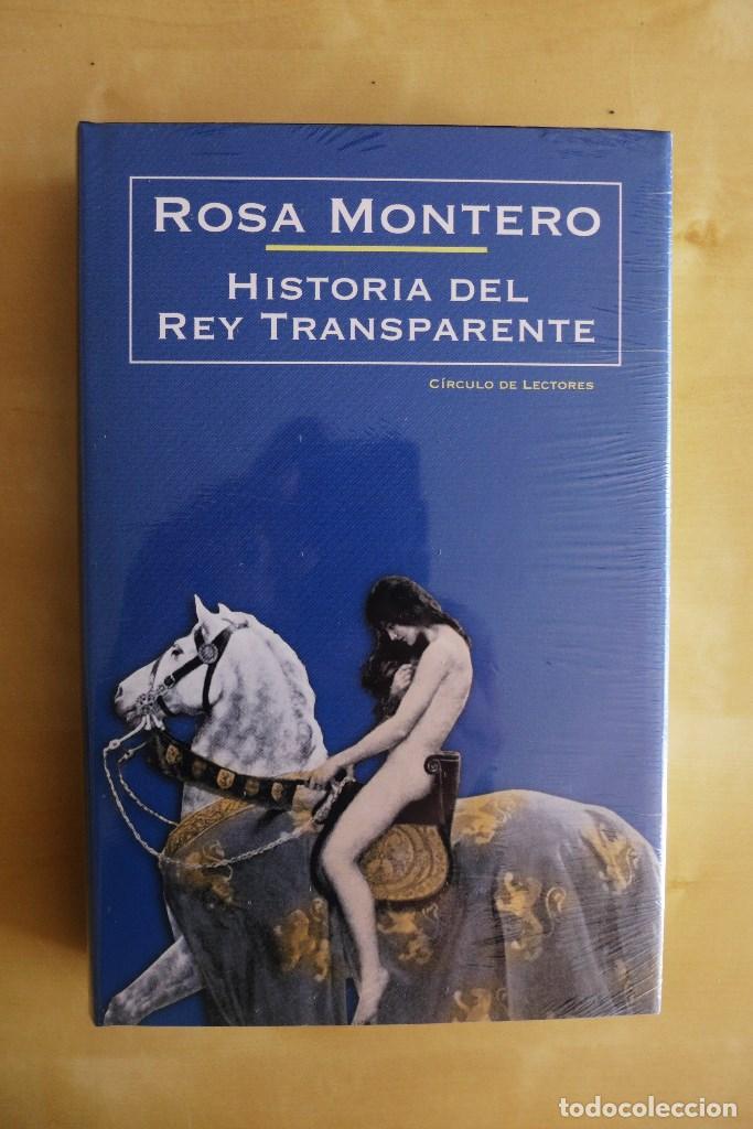 Libros de segunda mano: HISTORIA DEL REY TRANSPARENTE,ROSA MONTERO, TAPA DURA, A ESTRENAR PRECINTADO,CIRCULO DE LECTORES - Foto 4 - 83400068