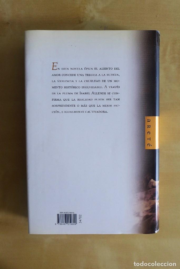 Libros de segunda mano: INÉS DEL ALMA MÍA, ISABEL ALLENDE, TAPA DURA, CIRCULO DE LECTORES - Foto 5 - 83645752