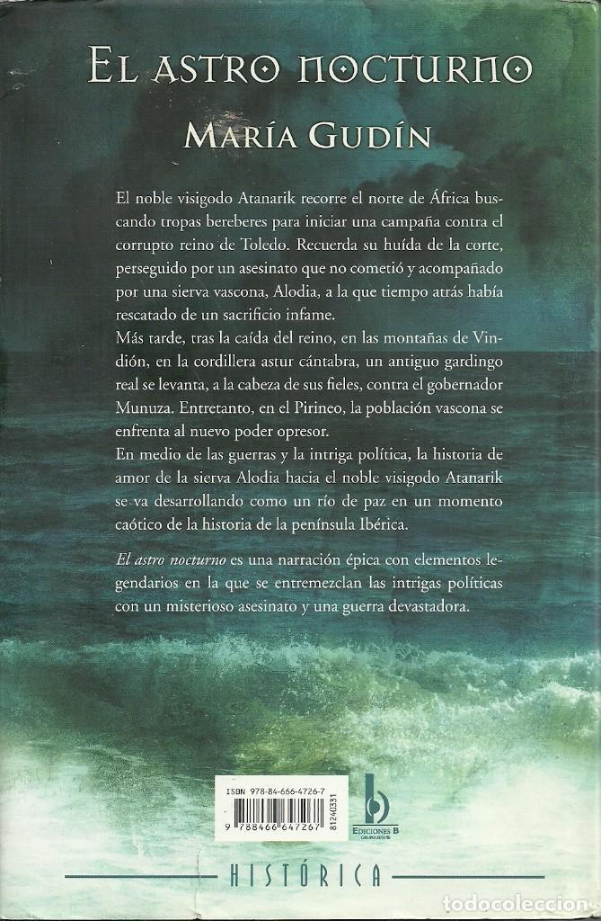 maría gudín-el astro nocturno.ediciones b.tapa - Comprar