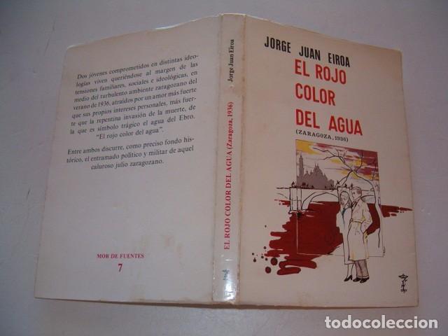 jorge juan eiroa. el rojo color del agua (zarag - Comprar Libros de ...