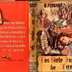 Libros de segunda mano: FERNÁNDEZ Y GONZÁLEZ : LOS SIETE INFANTES DE LARA (TESORO, 1951). Lote 84804780