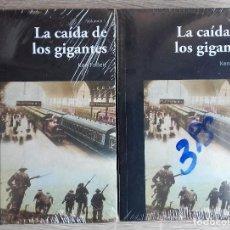 Libros de segunda mano: LA CAIDA DE LOS GIGANTES * KEN FOLLETT.* 2 VOLUMENES. Lote 85282376