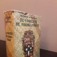 Libros de segunda mano: CORAZON DE PIEDRA VERDE- SALVADOR DE MADARIAGA - EDITORIAL DIANA MEXICO 1948 - UNICO. Lote 86246764