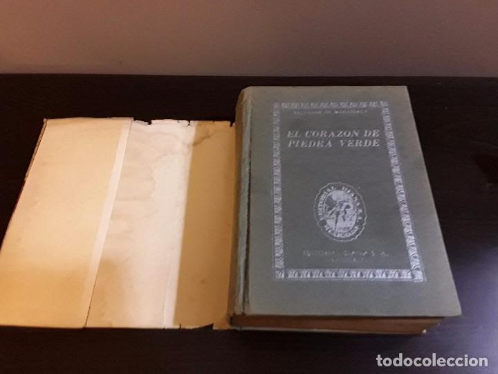 Libros de segunda mano: CORAZON DE PIEDRA VERDE- SALVADOR DE MADARIAGA - EDITORIAL DIANA MEXICO 1948 - UNICO - Foto 3 - 86246764