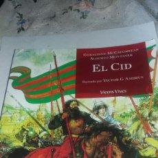 Libros de segunda mano: EL CID EDITORIAL VICENS VIVES. Lote 87462215