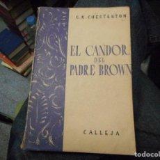 Libros de segunda mano: EL CANDOR PADRE BROWN CALLEJA. Lote 89521240
