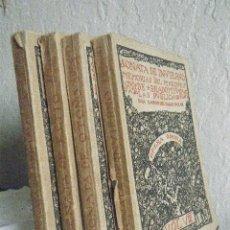 Libros de segunda mano: VALLE INCLÁN.- MEMORIAS DEL MARQUÉS DE BRADOMÍN (4 VOLS). Lote 89741992