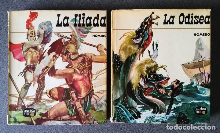 LA ILIADA, LA ODISEA DE HOMERO (Libros de Segunda Mano (posteriores a 1936) - Literatura - Narrativa - Novela Histórica)
