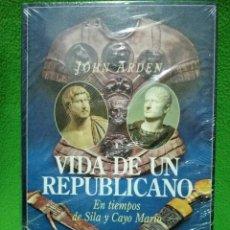Libros de segunda mano: VIDA DE UN REPUBLICANO EN TIEMPOS DE SILA Y CAYO MARIO - DE JOHN ARDEN - EDITORIAL EDHASA NUEVO. Lote 97097175