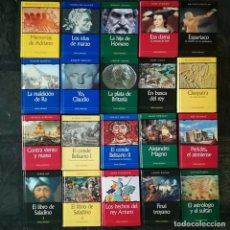 Libros de segunda mano: 20 NOVELA HISTORICA - COLECCION COMPLETA - 20 NOVELAS SELECCIONADAS RBA. Lote 97214655