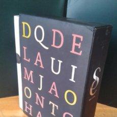 Libros de segunda mano: DON QUIJOTE DE LA MANCHA. EN EDICIÓN DE LUJO, EN UN ÚNICO TOMO ESTUCHADO.2010. Lote 101656099