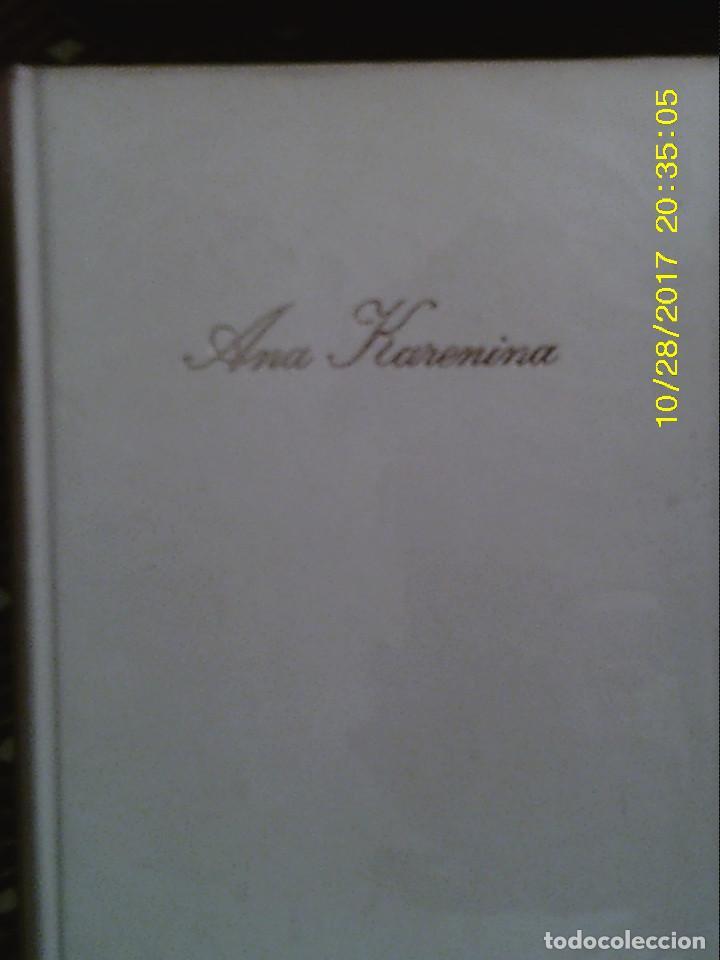LIBRO Nº 926 ANA KARENINA LEON TOLSTOI (Libros de Segunda Mano (posteriores a 1936) - Literatura - Narrativa - Novela Histórica)