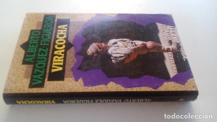 VIRACOCHA-ALBERTO VAZQUEZ FIGUEROA-CIRCULO DE LECTORES 1992-TAPAS DURAS + CUBIERTA-ILUSTRADO VER FOT (Libros de Segunda Mano (posteriores a 1936) - Literatura - Narrativa - Novela Histórica)