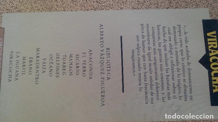 Libros de segunda mano: VIRACOCHA-ALBERTO VAZQUEZ FIGUEROA-CIRCULO DE LECTORES 1992-TAPAS DURAS + CUBIERTA-ILUSTRADO VER FOT - Foto 2 - 101711055