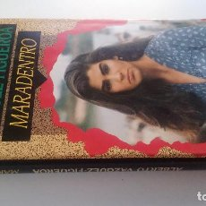 Libros de segunda mano: MARADENTRO-ALBERTO VAZQUEZ FIGUEROA-CIRCULO LECTORES 1992-TAPAS DURAS + CUBIERTA-ILUSTRADO VER FOT. Lote 101711599