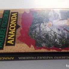 Libros de segunda mano: ANACONDA-ALBERTO VAZQUEZ FIGUEROA-CIRCULO DE LECTORES 1992-TAPAS DURAS + CUBIERTA-ILUSTRADO VER FOT. Lote 101711803