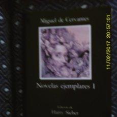 Libros de segunda mano: LIBRO Nº 1085 NOVELAS EJEMPLARES I DE MIGUEL DE CERVANTES. Lote 102266887