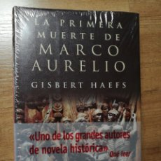 Libros de segunda mano: LA PRIMERA MUERTE DE MARCO AURELIO. GISBERT HAEFS. Lote 102485706