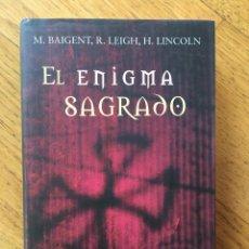 Libros de segunda mano: EL ENIGMA SAGRADO. BAIGENT. LEIGH. LINCOLN. CIRCULO DE LECTORES. Lote 103322359