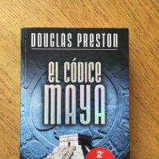 Libros de segunda mano: EL CODICE MAYA. DOUGLAS PRESTON. PLAZA & JANES. Lote 103322655