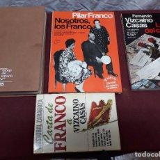 Libros de segunda mano: CARTA DE FRANCO A CASAS Y LA LETRA DEL CAMBIO DE C. ZARAGOZA. NOSOTROS LOS FRANCO DE PILAR FRANCO. Lote 103641695