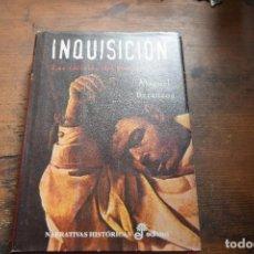 Libros de segunda mano: INQUISICION, LAS CARCELES DEL SANTO OFICIO, MIGUEL BETANZOS, EDHASA, 2004. Lote 104122919