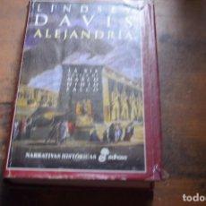 Libros de segunda mano: ELEJANDRIA, XIX NOVELA DE MARCO DIDIO FALCO, LINDSEY DAVIS, EDHASA, 2009. Lote 104124479