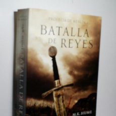 Libros de segunda mano: BATALLA DE REYES. PROFECIA DE MERLIN I - II-III- 3 VOLUMENES. HUME M.K. 2014. Lote 104631239