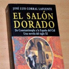 Libros de segunda mano: EL SALÓN DORADO - DE JOSÉ LUIS CORRAL LAFUENTE - EDHASA POCKET, Nº 153 - AÑO 2001. Lote 105163751