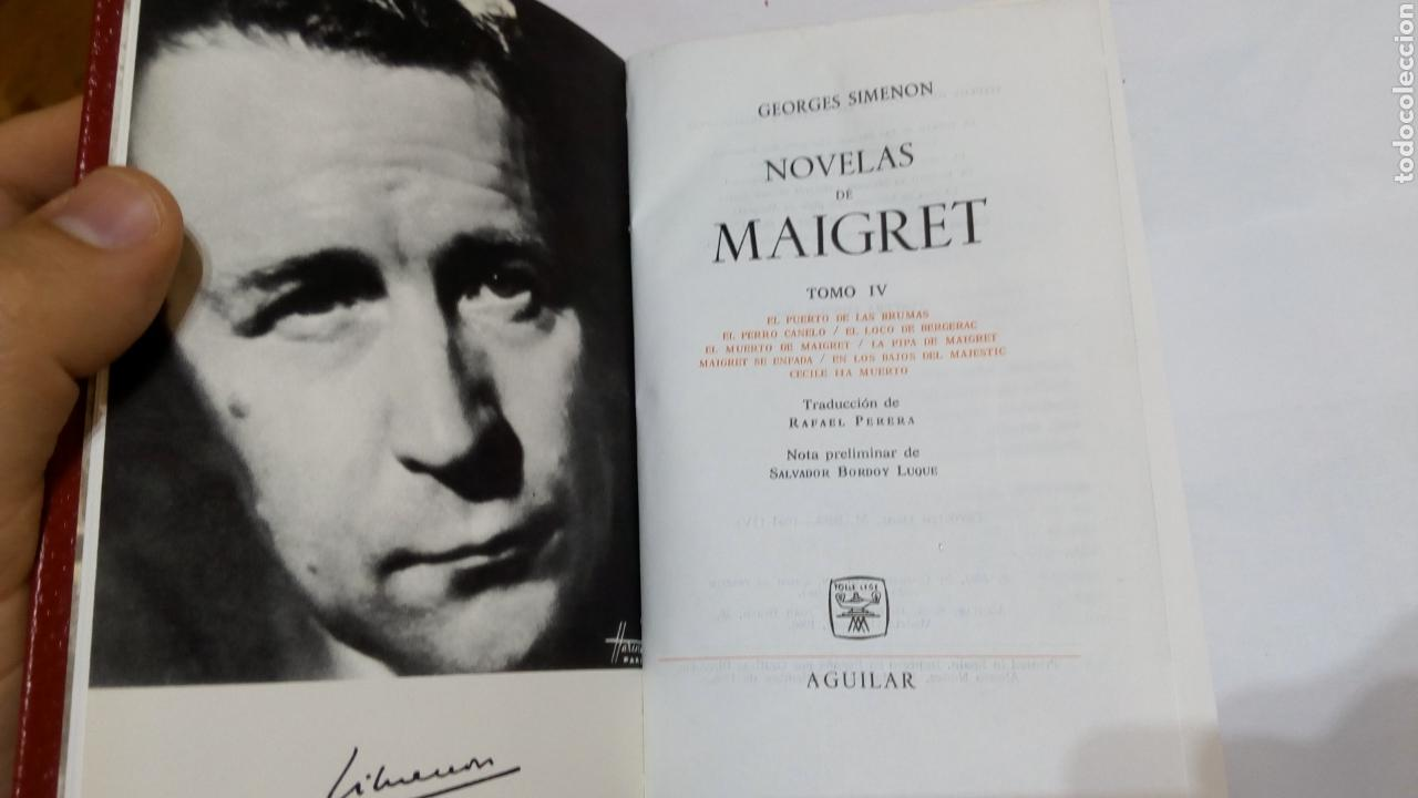 Libros de segunda mano: Libro Novelas de Maigret Tomo IV 4. Georges Simenon. El lince astuto. 3°edición 1966 - Foto 5 - 105313890