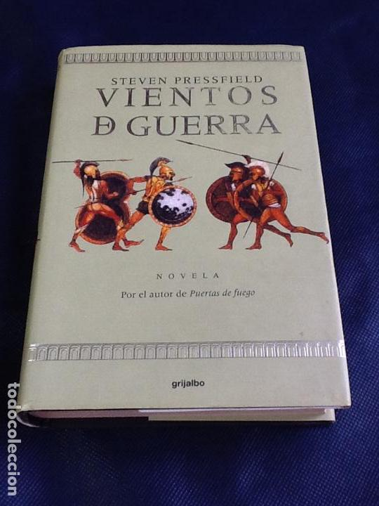 VIENTOS DE GUERRA. STEVEN PRESSFIELD (Libros de Segunda Mano (posteriores a 1936) - Literatura - Narrativa - Novela Histórica)
