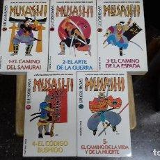 Libros de segunda mano: MUSASHI , 5 TOMOS EIJI YOSHIKAWA, MARTINEZ ROCA. Lote 106912411