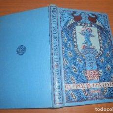 Libros de segunda mano: ANGEL RUIZ PABLO EL FINAL DE UNA LEYENDA BARCELONA GUSTAVO GILI. Lote 108069491