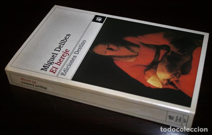 Libros de segunda mano: MIGUEL DELIBES - EL HEREJE - COL. ANCORA Y DELFIN Nº 827 - ED. DESTINO - 1998 - Foto 2 - 109485051