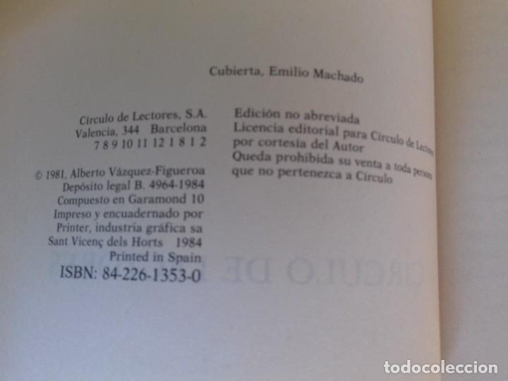 Libros de segunda mano: TUAREG-Alberto Vazquez Figueroa-CIRCULO DE LECTORES-1984 - Foto 4 - 109613223