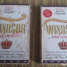 Libros de segunda mano: 2 TOMOS WINDSOR REAL CASTILLO LA HISTORIA DEL MÁS FAMOSO DE LOS CASTILLOS INGLESES, REINA ANA BOLENA. Lote 109903135