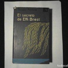 Libros de segunda mano: EL SECRETO DE EFFI BRIEST THEODOR FONTANE. Lote 112460755