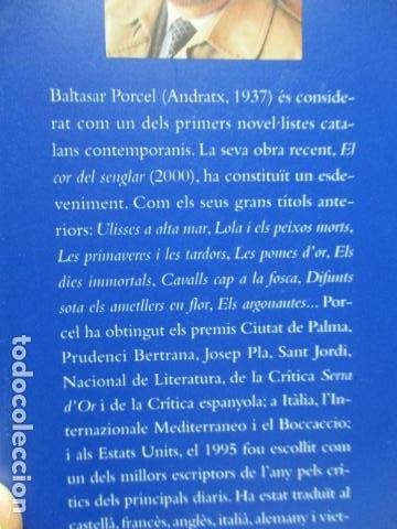 Libros de segunda mano: L´EMPERADOR O L´ULL DEL VENT-BALTASAR PORCEL-(PRIMERA EDICION, 2001)-MALLORCA - Foto 2 - 263100615