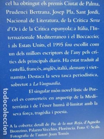 Libros de segunda mano: L´EMPERADOR O L´ULL DEL VENT-BALTASAR PORCEL-(PRIMERA EDICION, 2001)-MALLORCA - Foto 3 - 263100615