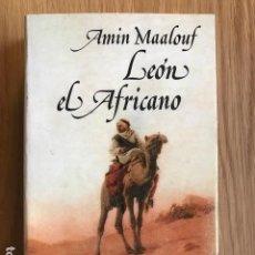 Libros de segunda mano: LEÓN EL AFRICANO. AMIN MAALOUF. ALIANZA.. Lote 112895055