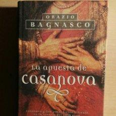 Libros de segunda mano: LA APUESTA DE CASANOVA. Lote 112941567