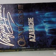Libros de segunda mano: CIENFUEGOS III-AZABACHE-ALBERTO VÁZQUEZ FIGUEROA-PLAZA JANES 1993. Lote 113305343
