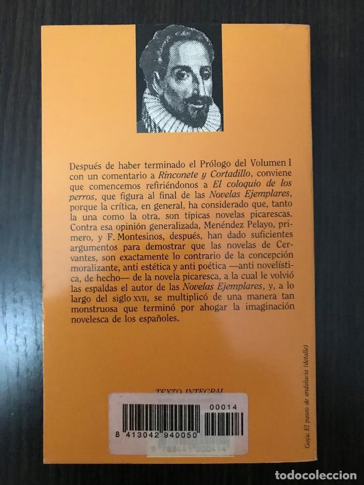 Libros de segunda mano: Miguel de Cervantes, Novelas Ejemplares II, Clásicos Españoles - Foto 2 - 114125483