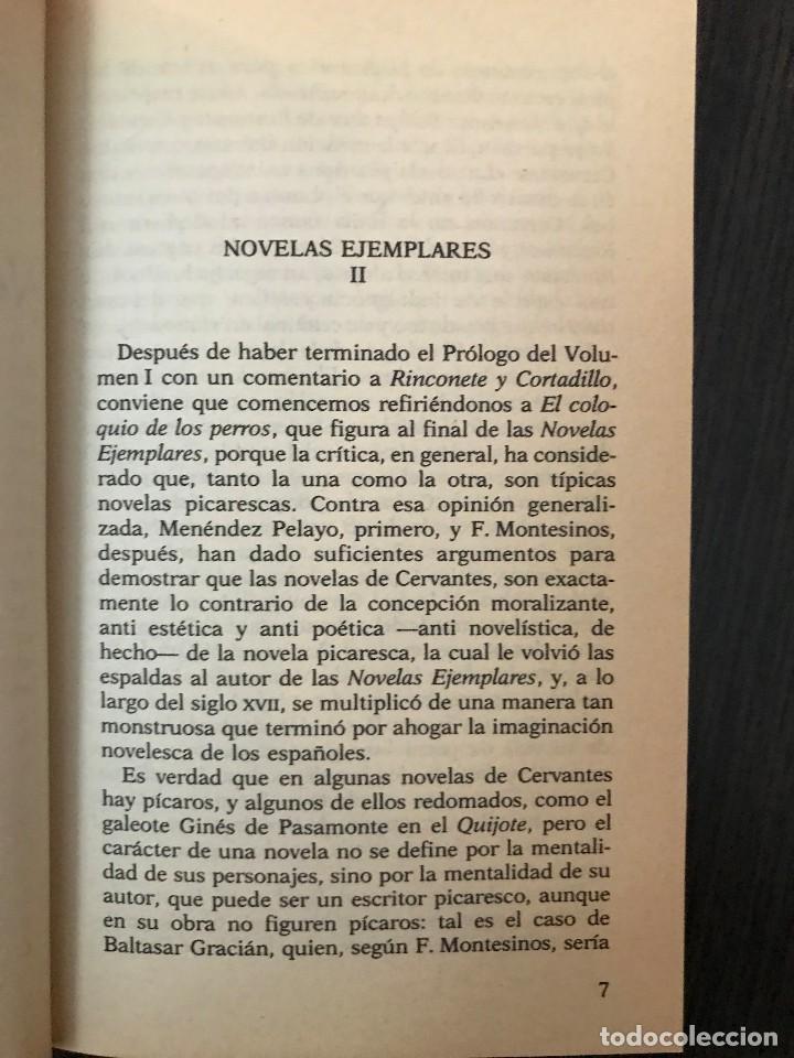 Libros de segunda mano: Miguel de Cervantes, Novelas Ejemplares II, Clásicos Españoles - Foto 4 - 114125483