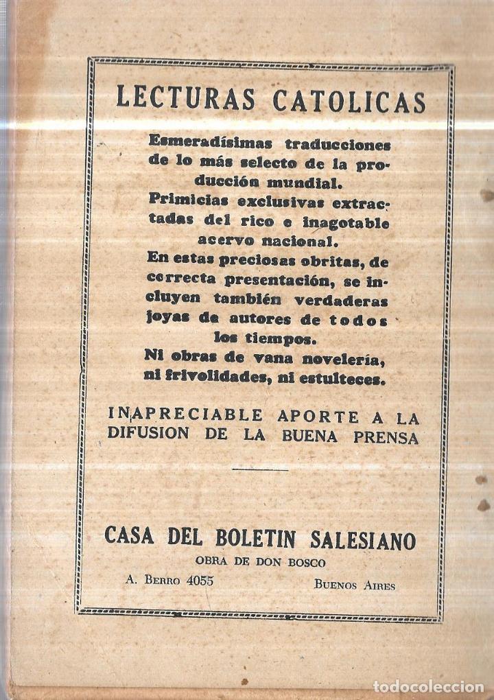 Libros de segunda mano: LA HEBREA, RELATO HISTORICO. P. CONRADO MUIÑOS. LECTURAS CATOLICAS. 1949. NARRACION HISTORICA. - Foto 4 - 114157183